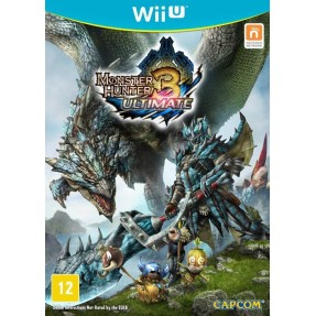 Jogo Monster Hunter 3: Ultimate Wii U Capcom