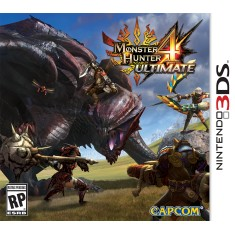 Foto Jogo Monster Hunter 4 Ultimate Capcom Nintendo 3DS