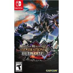 Jogo Monster Hunter Generations Ultimate Capcom Nintendo Switch