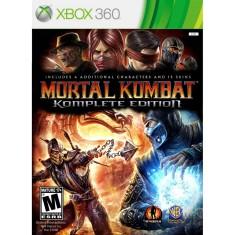 Jogo Mortal Kombat Komplete Edition Xbox 360 Warner Bros