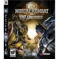 Jogo Mortal Kombat Vs. DC Universe PlayStation 3 Midway