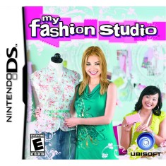 Foto Jogo My Fashion Studio Ubisoft Nintendo DS
