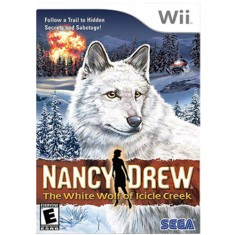 Jogo Nancy Drew The White Wolf of Icicle Creek Wii Sega