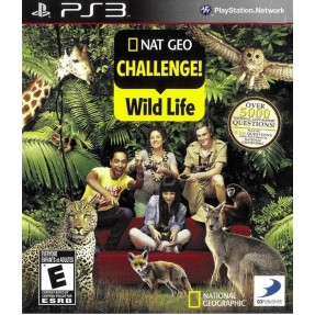 Jogo Nat Geo Challenge! Wild Life PlayStation 3 D3 Publisher