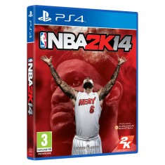 Jogo NBA 2K14 PS4 2K