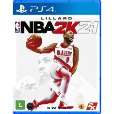 Jogo NBA 2K21 PS4 2K