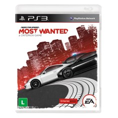 Foto Jogo Need for Speed: Most Wanted PlayStation 3 EA