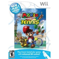Foto Jogo New Play Control! Mario Power Tennis Wii Nintendo