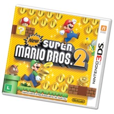 Foto Jogo New Super Mario Bros 2 Nintendo 3DS