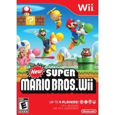 Jogo New Super Mario Bros Wii Nintendo