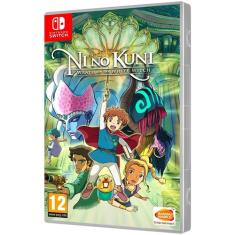 Jogo Ni No Kuni Wrath of the White Witch Bandai Namco Nintendo Switch