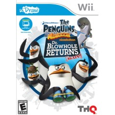 Foto Jogo Penguins of Madagascar: Dr. Blowhole Returns Again Wii THQ
