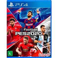 Jogo PES 2020 PS4 Konami