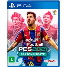 Jogo PES 2021 PS4 Konami