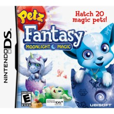 Foto Jogo Petz Fantasy Moonlight Magic Ubisoft Nintendo DS