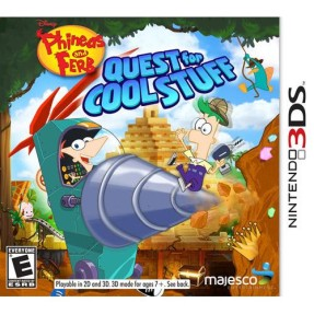 Foto Jogo Phineas And Ferb: Quest For Cool Stuff Majesco Entertainment Nintendo 3DS