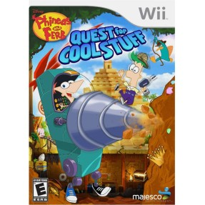 Foto Jogo Phineas and Ferb: Quest For Cool Stuff Wii Majesco Entertainment
