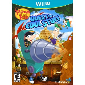 Foto Jogo Phineas and Ferb: Quest For Cool Stuff Wii U Majesco Entertainment