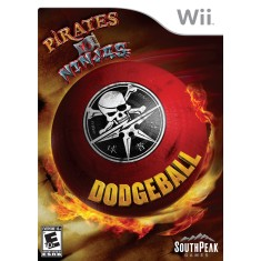 Foto Jogo Pirates vs Ninjas Dodgeball Wii SouthPeak Games