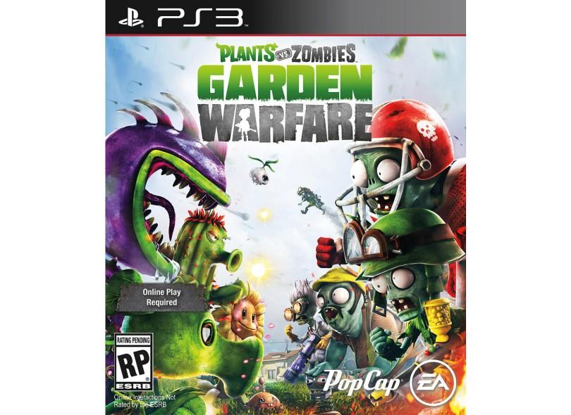 jogo plants vs zombies garden warfare playstation 3 popcap