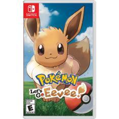 Jogo Pokémon Let's Go, Eevee! Nintendo Nintendo Switch