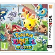 Foto Jogo Pokemon Rumble World Nintendo 3DS
