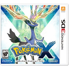 Jogo Pokemon X Nintendo 3DS