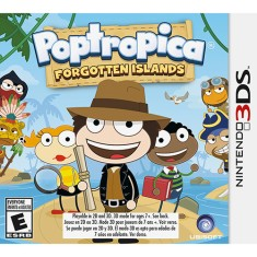 Jogo Poptropica Forgotten Islands Ubisoft Nintendo 3DS