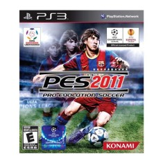 Foto Jogo Pro Evolution Soccer 2011 PlayStation 3 Konami