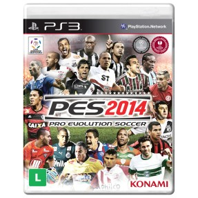 Foto Jogo Pro Evolution Soccer 2014 PlayStation 3 Konami