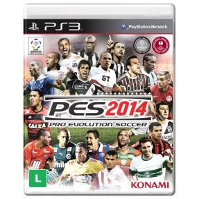Jogo Pro Evolution Soccer 2014 PlayStation 3 Konami