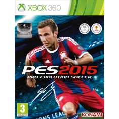 Jogo Pro Evolution Soccer 2015 Xbox 360 Konami