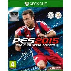 Jogo Pro Evolution Soccer 2015 Xbox One Konami