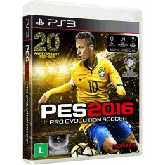 Jogo Pro Evolution Soccer 2016 PlayStation 3 Konami