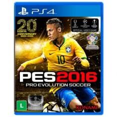 Jogo Pro Evolution Soccer 2016 PS4 Konami
