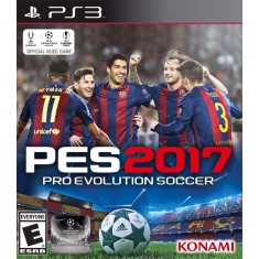 Foto Jogo Pro Evolution Soccer 2017 PlayStation 3 Konami