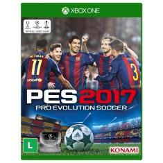 Jogo Pro Evolution Soccer 2017 Xbox One Konami