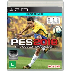 Foto Jogo Pro Evolution Soccer 2018 PlayStation 3 Konami
