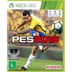 Foto Jogo Pro Evolution Soccer 2018 Xbox 360 Konami