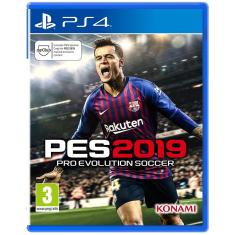 Foto Jogo Pro Evolution Soccer 2019 PS4 Konami