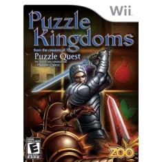 Jogo Puzzle Kingdoms Wii Zoo Games