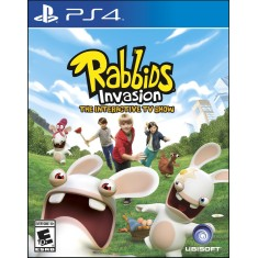 Jogo Rabbids Invasion PS4 Ubisoft