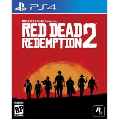 Foto Jogo Red Dead Redemption 2 PS4 Rockstar