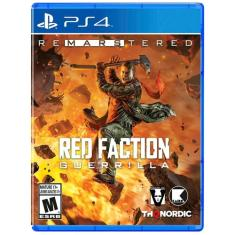Foto Jogo Red Faction Guerrilla Remarstered PS4 THQ