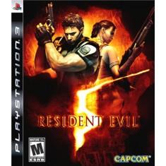 Jogo Resident Evil 5 PlayStation 3 Capcom