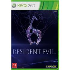 Jogo Resident Evil 6 Xbox 360 Capcom