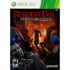 Foto Jogo Resident Evil: Operation Raccoon City Xbox 360 Capcom