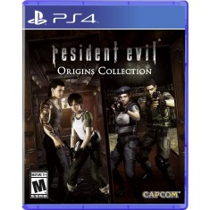 Foto Jogo Resident Evil Origins Collection PS4 Capcom