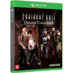 Jogo Resident Evil Origins Collection Xbox One Capcom