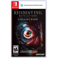 Jogo Resident Evil Revelations Capcom Nintendo Switch